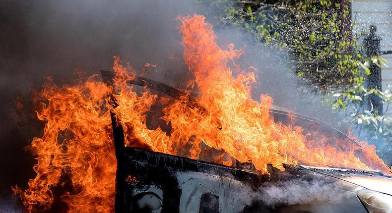 Man burnt to death inside his car at Buru Buru estate
