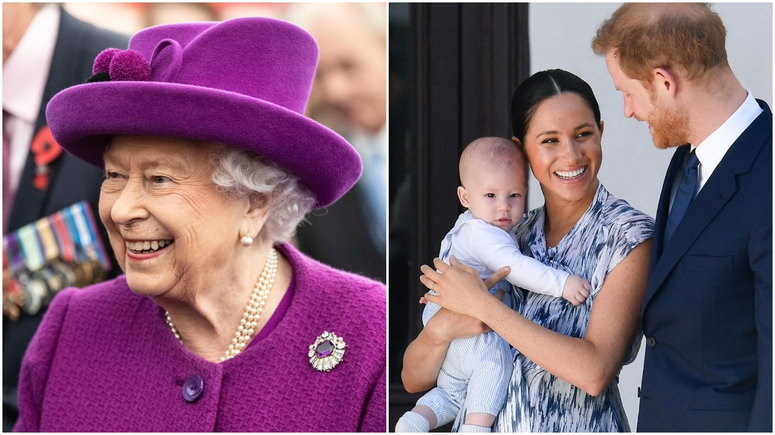Archie is Harry and Meghan's son who is seventh in line to the throne [Instagram/TheRoyalFamily] [Instagram/ElleGermany]