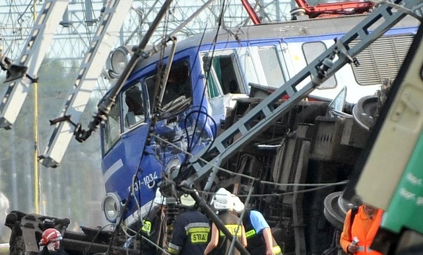 Proces maszynisty co wykoleił pociąg w Babach