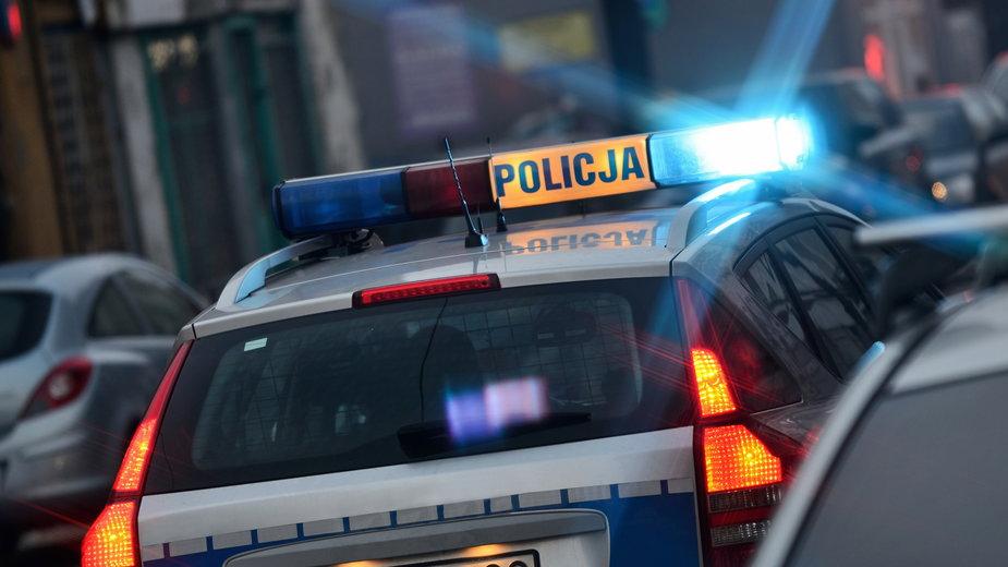 Policjanci zatrzymali mężczyznę, który zaatakował nożem swego znajomego