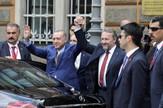 Erdogana je u Srajevu dočekao Bakir Izetbegović