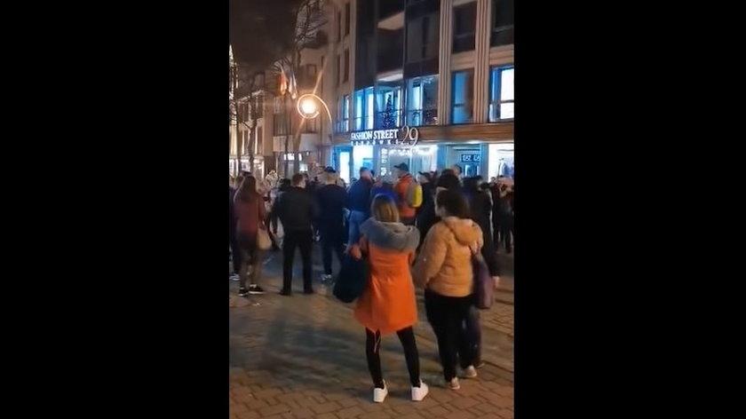 Skandaliczne sceny na ulicach Zakopanego