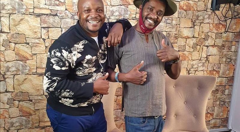 Emotional moment as Jalang'o & Njoro break down as they pay tribute to Papa Shirandula (Video)