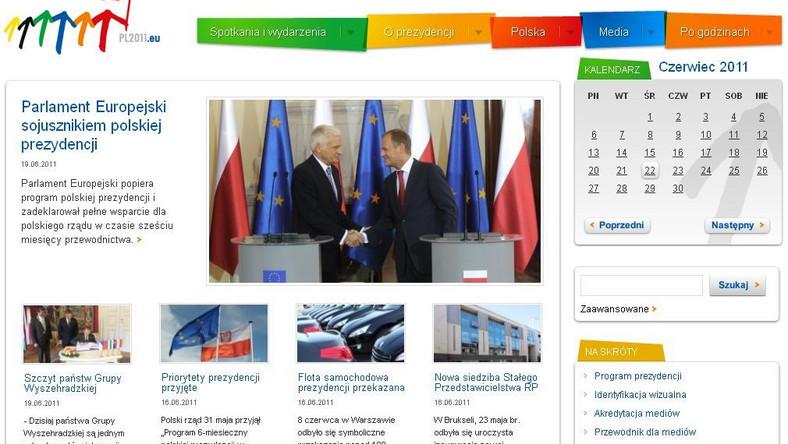 Oficjalna strona polskiej prezydencji