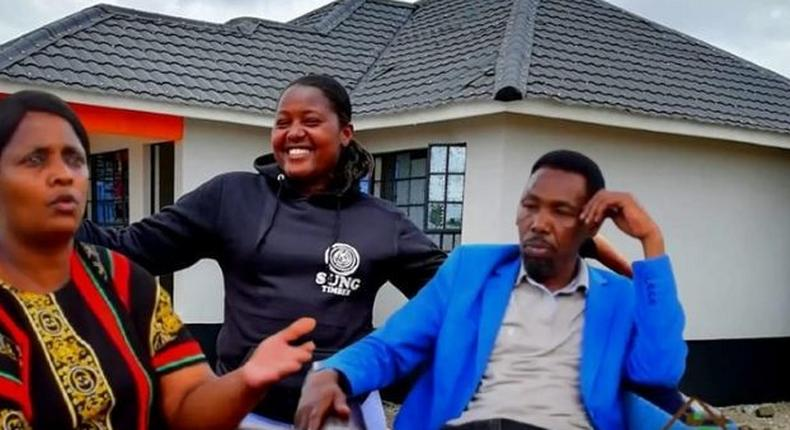 Omosh's first wife asks Kenyans to build her a house