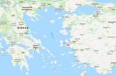Grčka Turska granica google maps