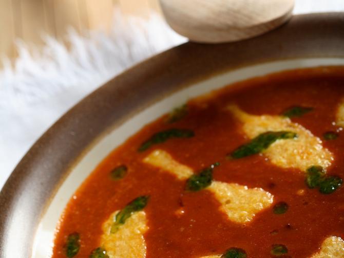 Aromatična paradajz supa