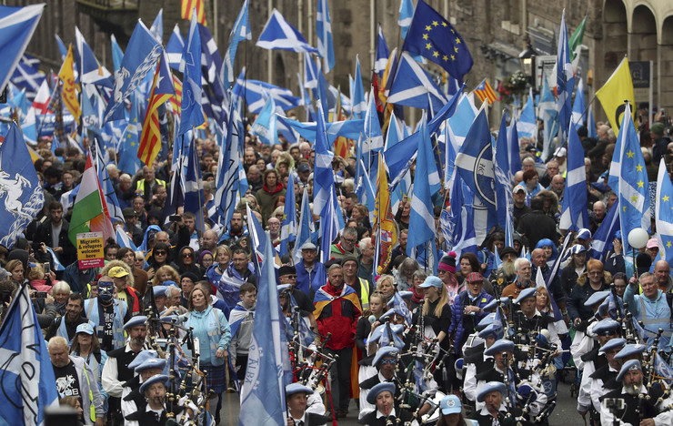 Škotska nezavisnost 20191005 ap andrew milligan edinburgh Di017592351