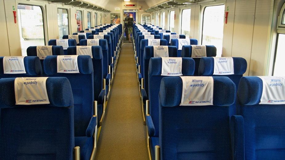 Koniec dotychczasowych limitów w pociągach. Więcej miejsc od 15 maja
