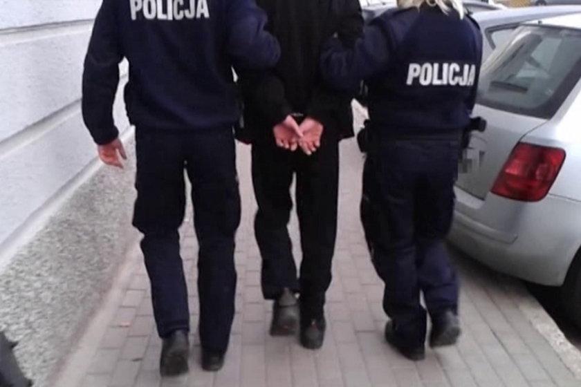 policjanci zatrzymali 43-letniego złodzieja ręki Reagana w Gdańsku