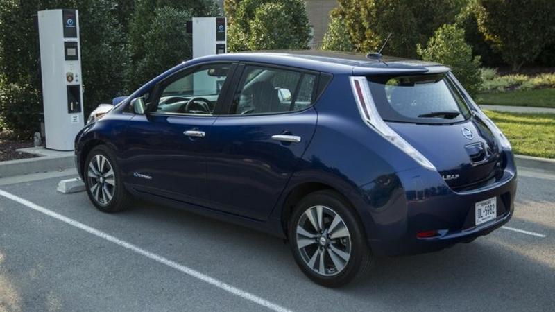 Pierwsze zdjęcia nowego Nissana Leaf pojawiły się w sieci