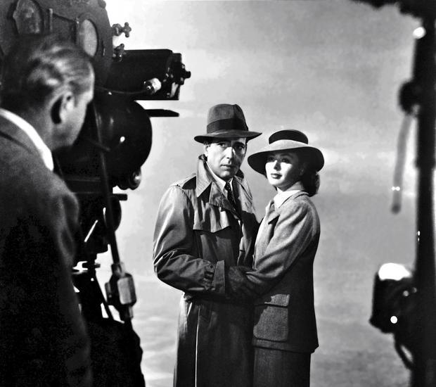 """""""Casablanca"""" - zdjęcie z planu"""