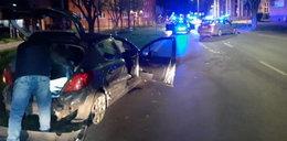 Pościg i strzelanina na Śląsku. 26-latek taranował radiowozy
