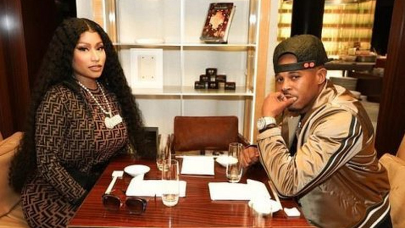 Nicki Minaj and Kenneth Petty (NAN)