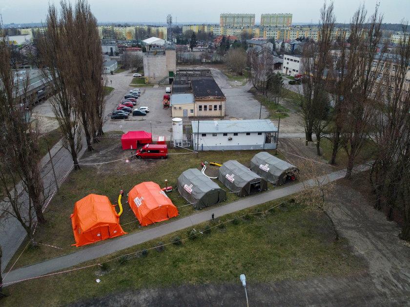 Uciekinier ze szpitala podejrzany o koronawirus aresztowany