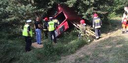Wypadek busa pod Kołobrzegiem. Nikt nie przeżył!