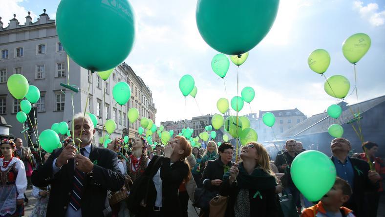 """Marsz zorganizowała fundacja """"Podaruj Życie"""""""