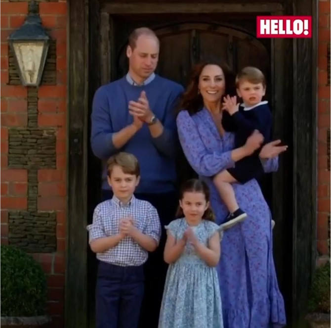 Kejt, Vilijam i deca
