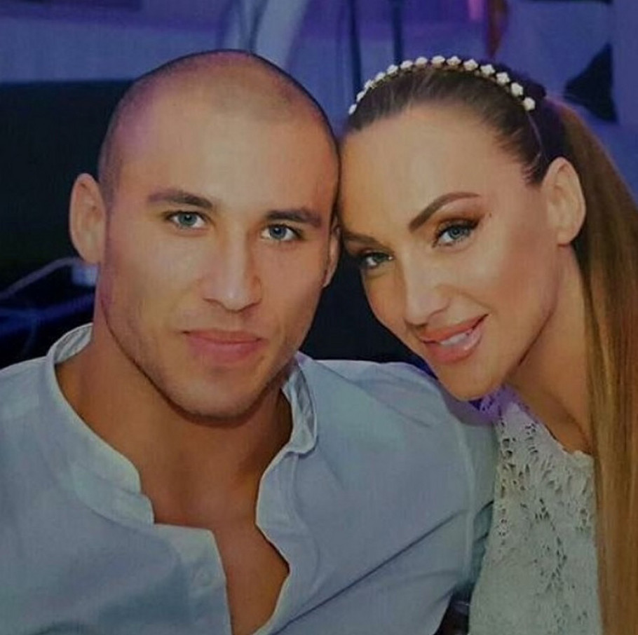 Goga Sekulić sa suprugom