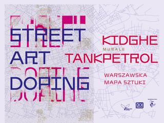 'Na tropach nieoczywistości' - Nowa edycja Warszawskiej Mapy Sztuki w Przestrzeni Publicznej Street Art Doping 2021