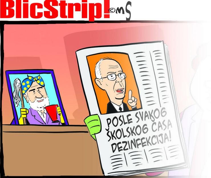 Blic strip