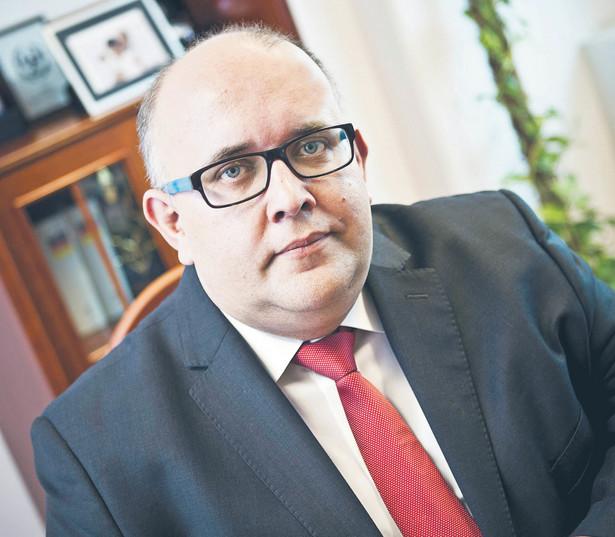 Dr Wojciech Wiewiórowski, europejski inspektor ochrony danych. Fot. Wojtek Górski