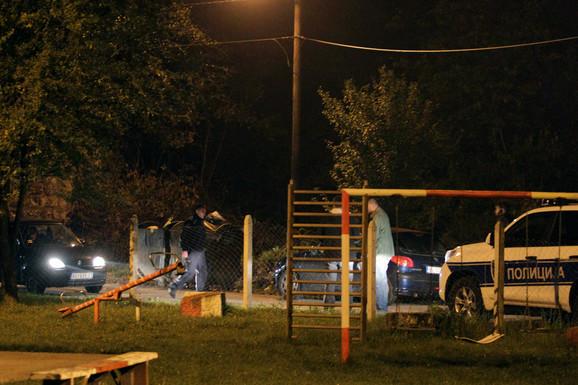 Mesto napada u Rakovici