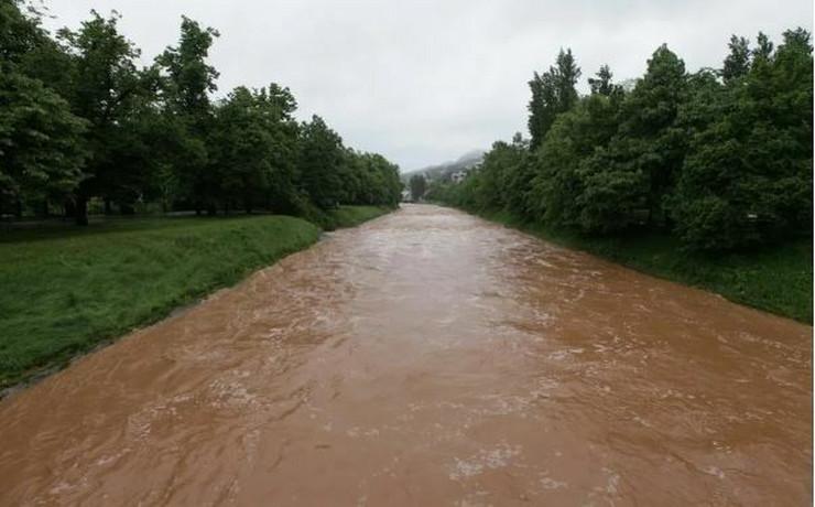 Miljacka Sarajevo reka vodostaj