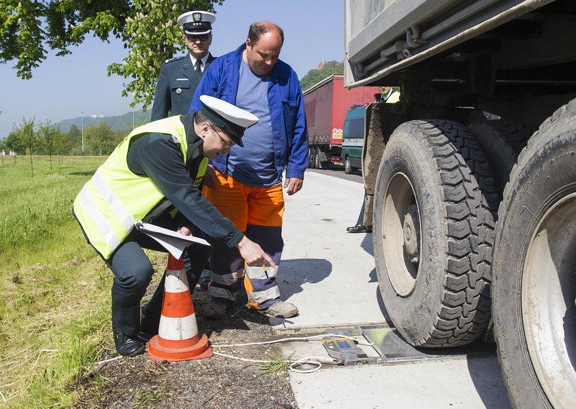 Przeładowane ciężarówki nie wjadą do Krakowa