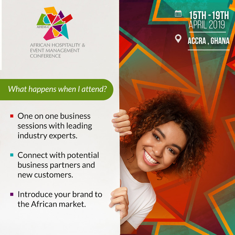 African Hospitality & Event Management Conference 2019 - What you're in for