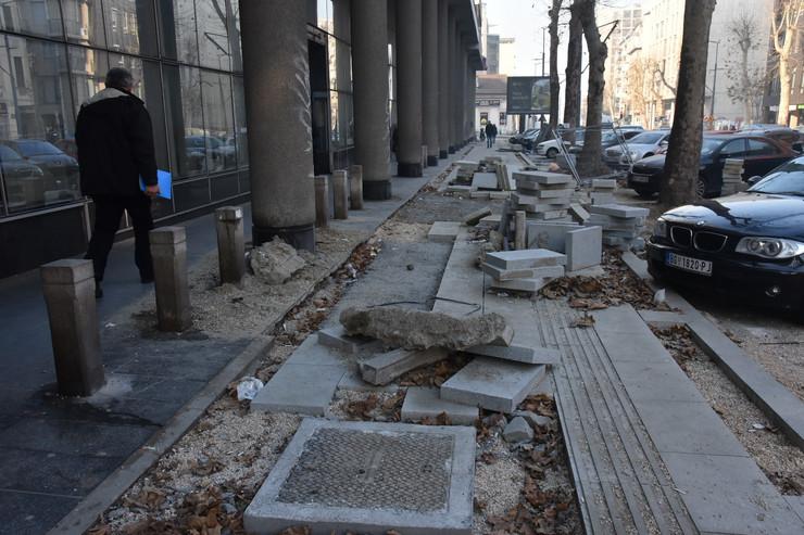 četiri bulevara radovi rekonstrukcija