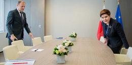 Szydło spotkała się z Tuskiem. O czym rozmawiali?