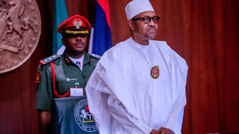 President Muhammadu Buhari. [Twitter/@NGRPresident]