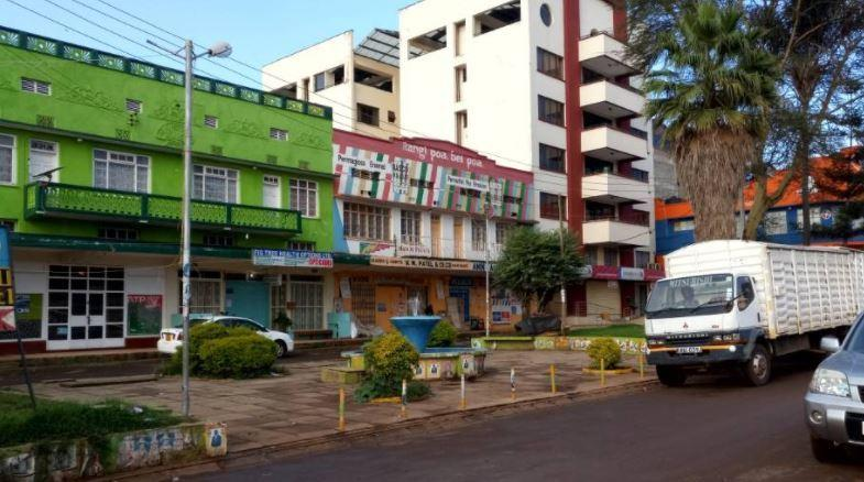 A section of Kericho town
