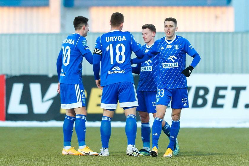 Wisła Płock pokonała Lech Poznań 1:0