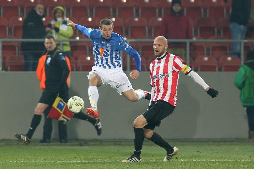 Paweł Tomczyk Lech Poznań zadebiutował w ekstraklasie