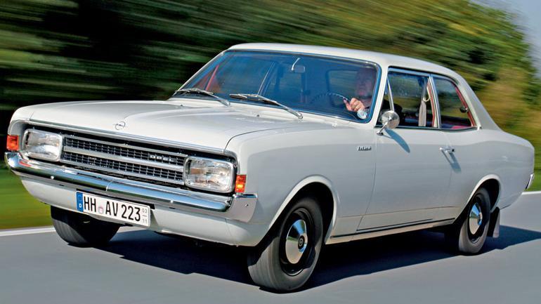 Niemiecka solidność - Opel Rekord C