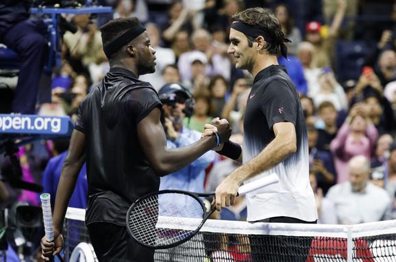 Fransis Tijafo i Rodžer Federer