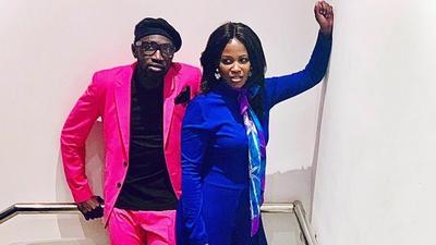 Sauti Sol's Polycarp and wife Lady Mandy announce pregnancy (Photo)