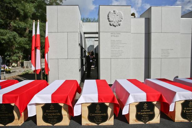 Pogrzeb 35 Żołnierzy Niezłomnych