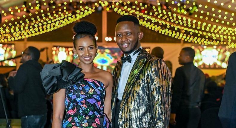 Sarah Hassan, Daddie Marto turn heads in elegant outfits at Kalasha awards [Photos]