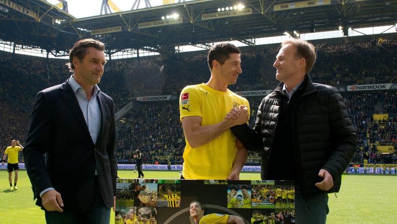 Piłkarze Borussii Dortmund wygrali na własnym stadionie z Hoffenheim 3:2 (3:1) w meczu przedostatniej, 33. kolejki niemieckiej ekstraklasy.