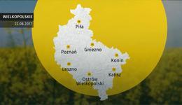 Prognoza pogody dla woj. wielkopolskiego – 22.08