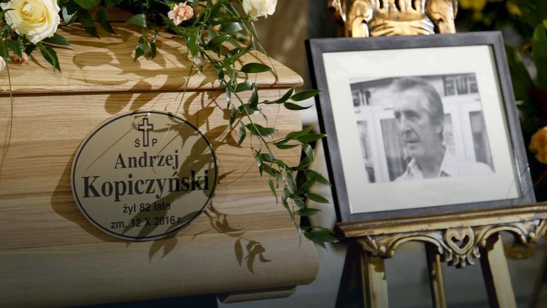 Uroczystości żałobne Andrzeja Kopiczyńskiego