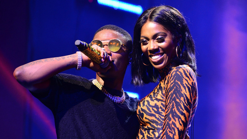 Image result for wizkid and tiwa savage