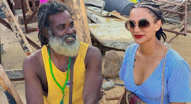 Koko Kamillah with Omar Lali