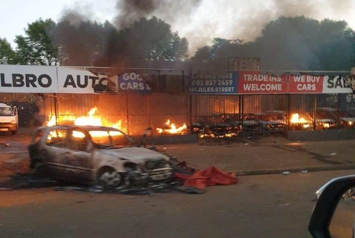 Businesses owned by Nigerians were looted and vandalised in recent attacks in South Africa [NAN]
