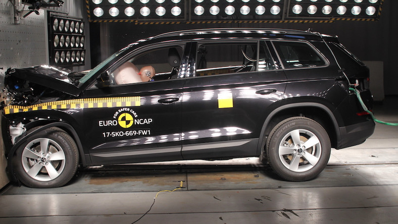 Crash test Skoda Kodiaq