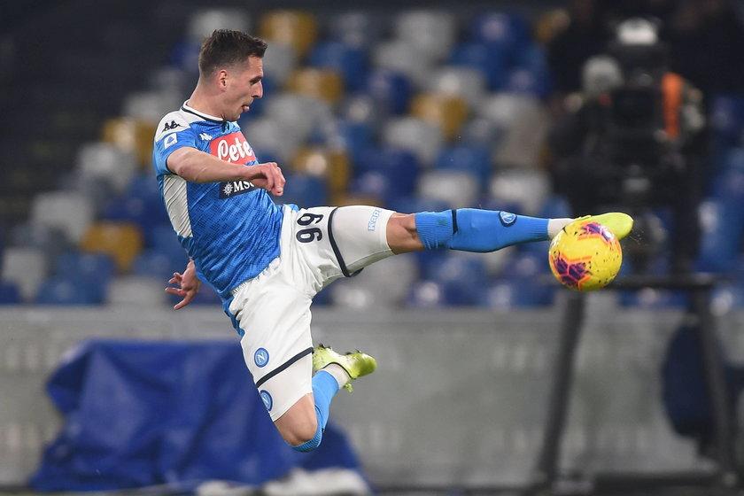 Polak w tym sezonie został skreślony przez Napoli