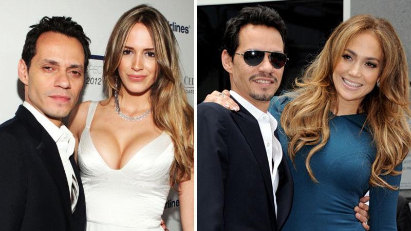 Jennifer Lopez vs  nowa dziewczyna Marca Anthony'ego